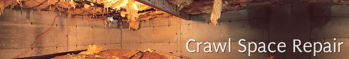 Crawl Space Repair in NJ, including Edison, Jersey City & Paterson.
